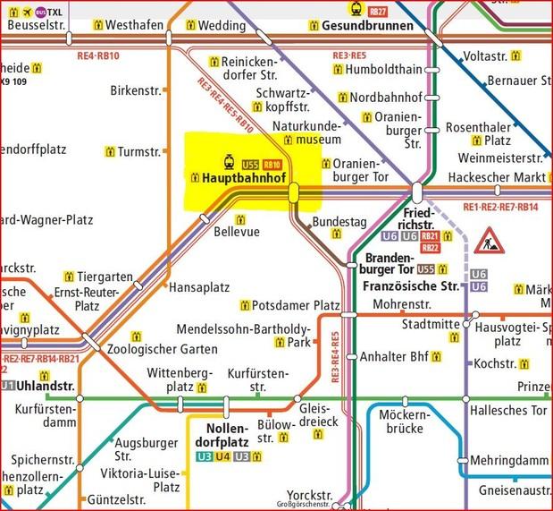 Bahnhof Berlin Hauptbahnhof BerlinVerkehr